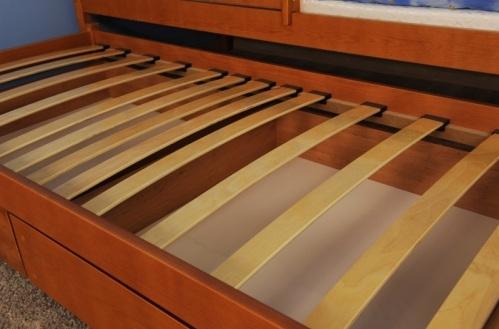 200x90 borovica rozkladacia postel s prístelkou