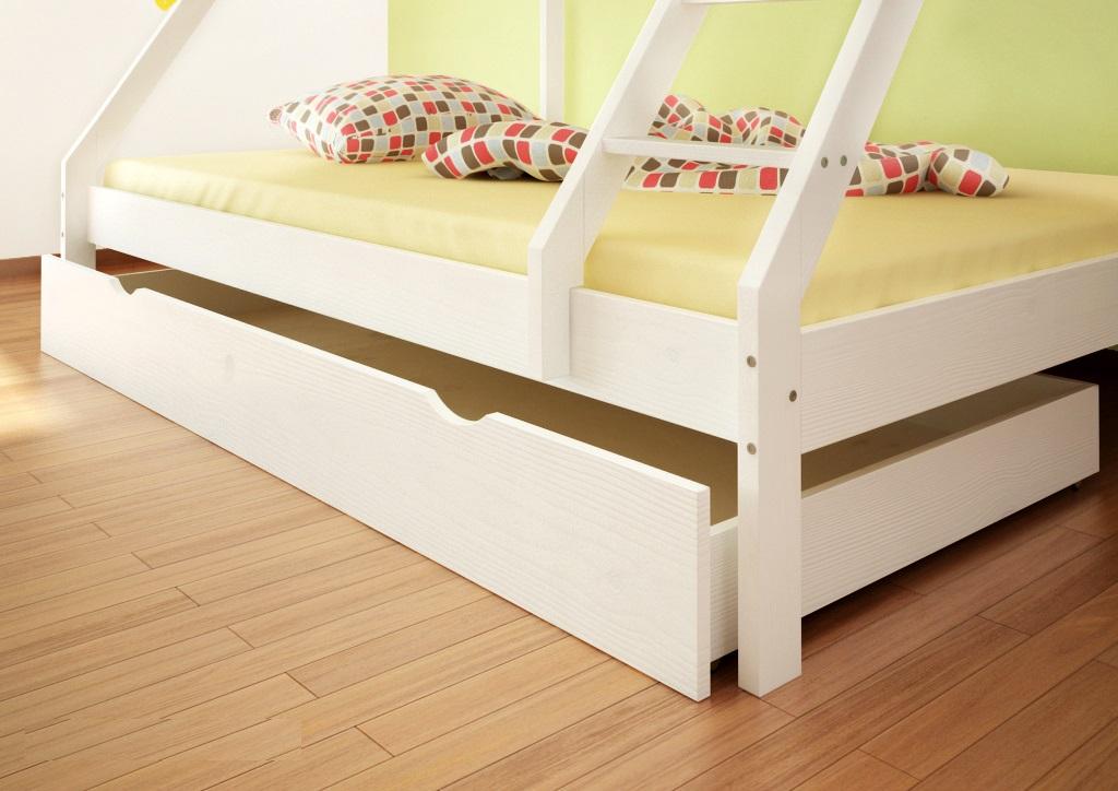 poschodová posteľ 140x200 90x200
