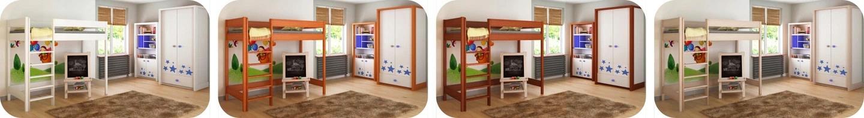Hugo Pred detská vyvýšená posteľ 140x70 - viac farieb